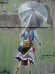 Graffito mural - rue de Valparaiso